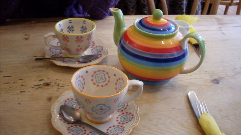 Tea at Cobble and Clay 2