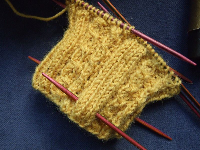 WYS Mustard Socks 6