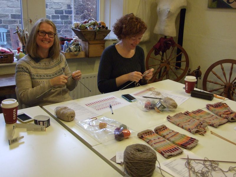 Fabulous FairIsle at Messengers Cottage Nov 15 003