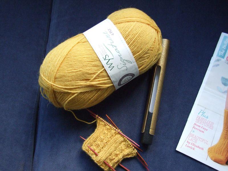 WYS Mustard Socks 4